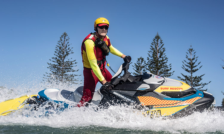 Surf Life Saving Foundation - jet ski