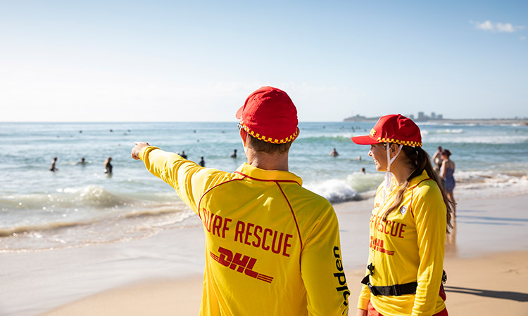 Surf Life Saving Foundation - Lifesavers on the beach